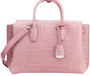 MCM Satchel in Pinky -mauve depending on the lighting