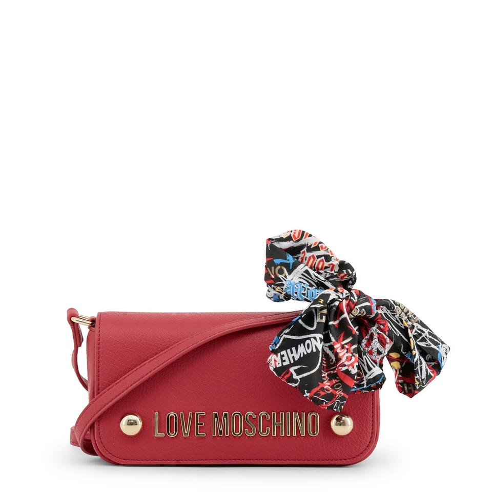 Body Synthetic Moschino Red Leather Bag Love Cross AX4awX