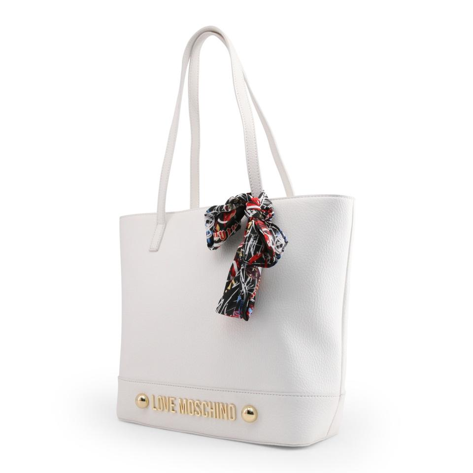 White Bag Leather Moschino Love Synthetic Shoulder Z5pPwq