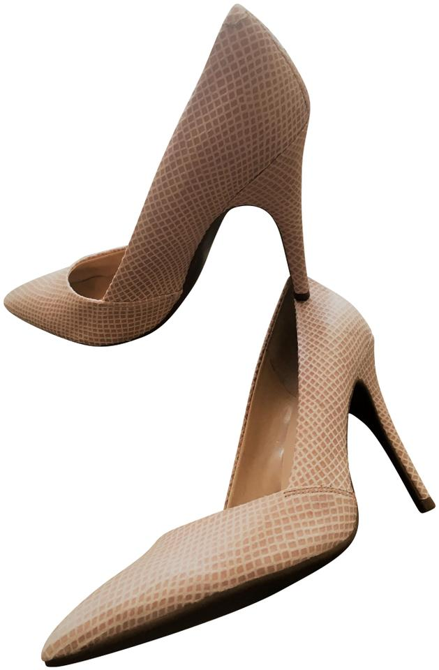 Guess Tan/Beige Classic Textured Tan/Beige Tan/Beige Textured Pumps 0173f5