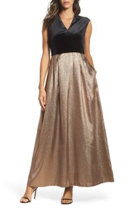 Ellen Tracy Jacquard Women Gown Dress