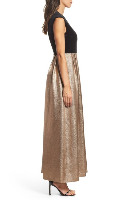 Ellen Tracy Jacquard Women Gown Dress Image 1
