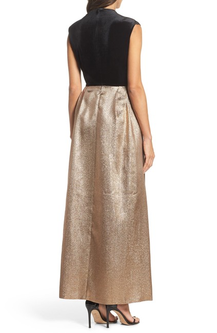 Ellen Tracy Jacquard Women Gown Dress Image 2