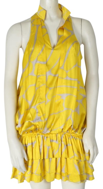 Preload https://img-static.tradesy.com/item/23841092/zoa-yellow-new-sleeveless-mid-length-short-casual-dress-size-2-xs-0-1-650-650.jpg