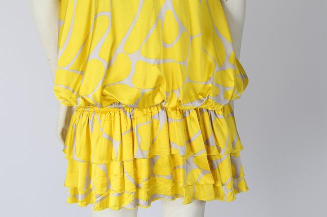 Zoa short dress Yellow Knee Lenght on Tradesy