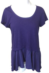 Anthropologie Top Purple