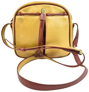 Cartier Leather Bordeaux Must C Cross Body Bag