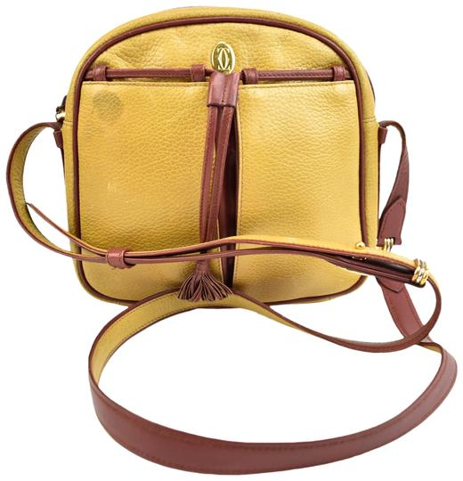 Preload https://img-static.tradesy.com/item/23841338/cartier-must-c-golden-brown-leather-and-logo-ms-cross-body-bag-0-1-540-540.jpg