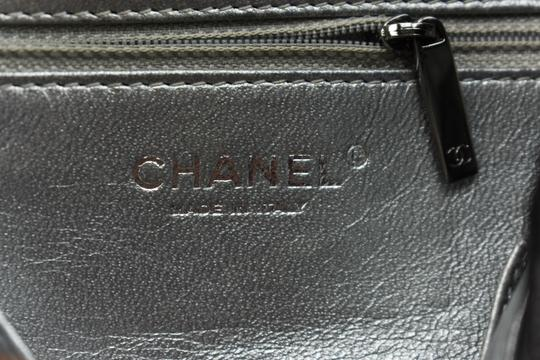 Chanel Cc Leather Caviar Quilted Shoulder Bag