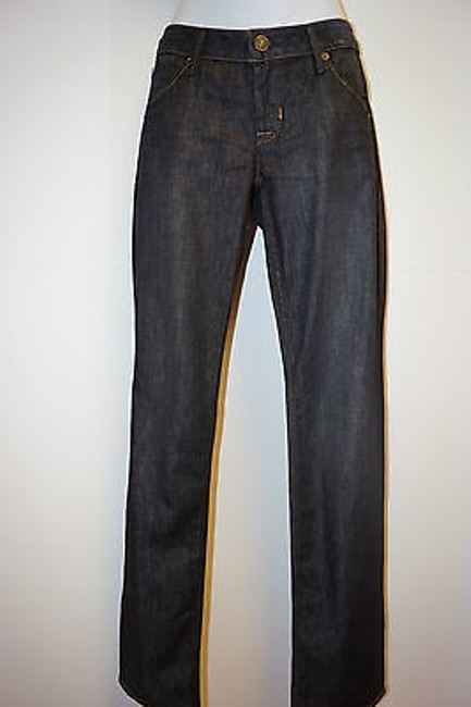 Hudson New Carly Flap Triangle Pocket Emer Women Straight Leg Jeans