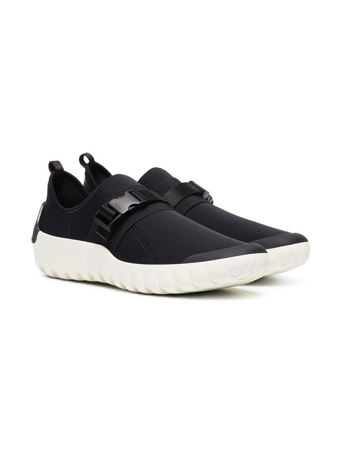 Prada Black New Men's Leather Neoprene 8uk/9us Sneakers Size US 9 Regular (M, B) Prada Black New Men's Leather Neoprene 8uk/9us Sneakers Size US 9 Regular (M, B) Image 1