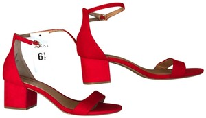 Merona Red Pumps