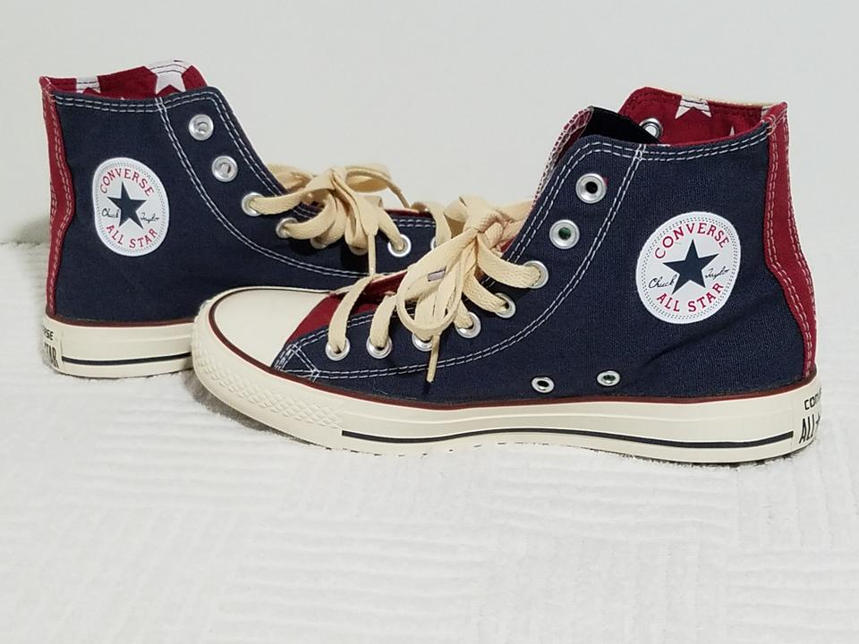 6499bcb0a53c Converse Red Star Chuck Taylor Superman Sneakers Dc Comics Sneakers ...
