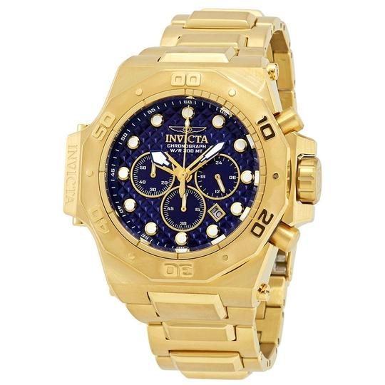 Invicta Invicta Akula Chronograph Blue Dial Mens Watch