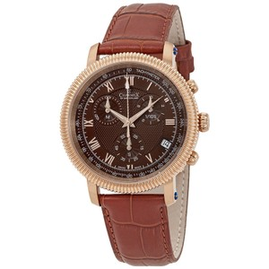 Charmex Charmex President II Chronograph Brown Dial Mens Watch