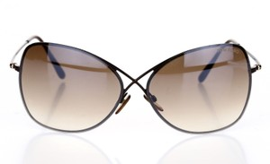 Tom Ford TOM FORD TF 250 48F Colette Butterfly Sunglasses Bronze Brown NEW!