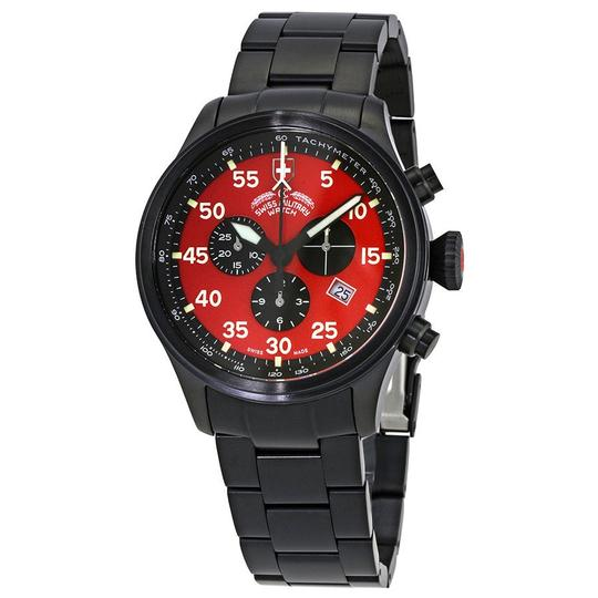 Preload https://img-static.tradesy.com/item/23841761/hawk-red-dial-mens-stainless-steel-watch-0-0-540-540.jpg
