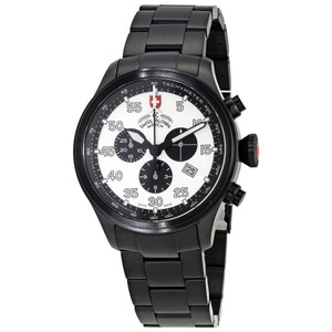 Swiss Military Swiss Military Hawk Silver Dial Mens Chronograph Watch