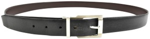 "Salvatore Ferragamo Reversible Leather & Logo fits 40"" to 44"" (o) Belt"