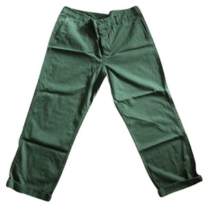 J.Crew Boyfriend Pants Green
