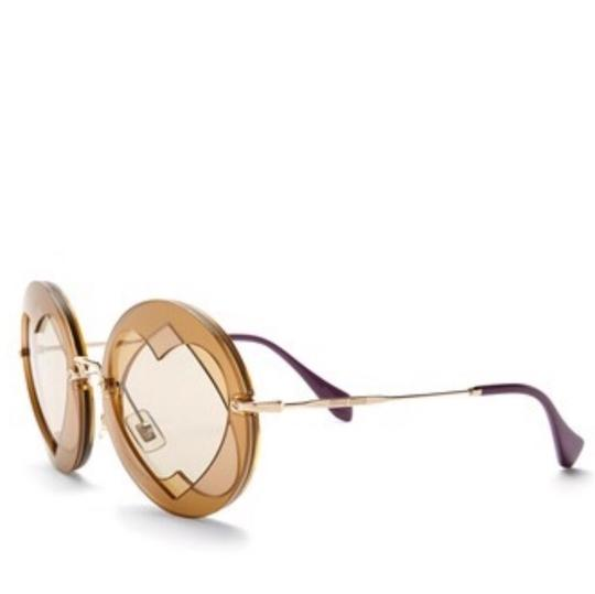 Miu Miu Double Heart 62mm Round