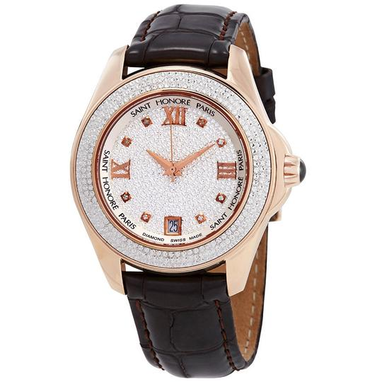 Preload https://img-static.tradesy.com/item/23842349/coloseo-pave-eclair-effect-dial-ladies-pard-watch-0-0-540-540.jpg