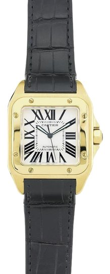 Preload https://img-static.tradesy.com/item/23842407/cartier-yellow-gold-and-silver-santos-100-w20071y1-large-watch-0-1-540-540.jpg