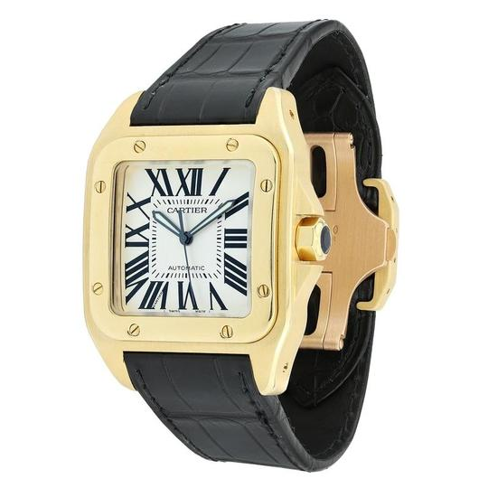 Cartier Cartier Santos 100 Yellow Gold W20071Y1 Large