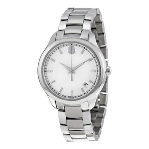 Movado Movado Bellina White Mother of Pearl Dial Stainless Steel Ladies Watch