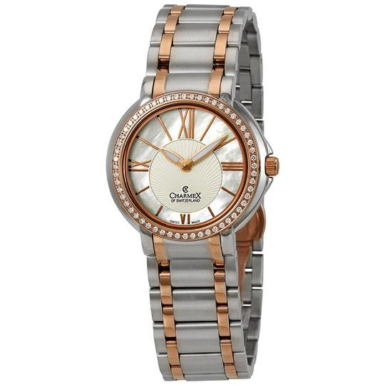 Preload https://img-static.tradesy.com/item/23842468/crystal-white-mother-of-pearl-dial-ladies-watch-0-0-540-540.jpg