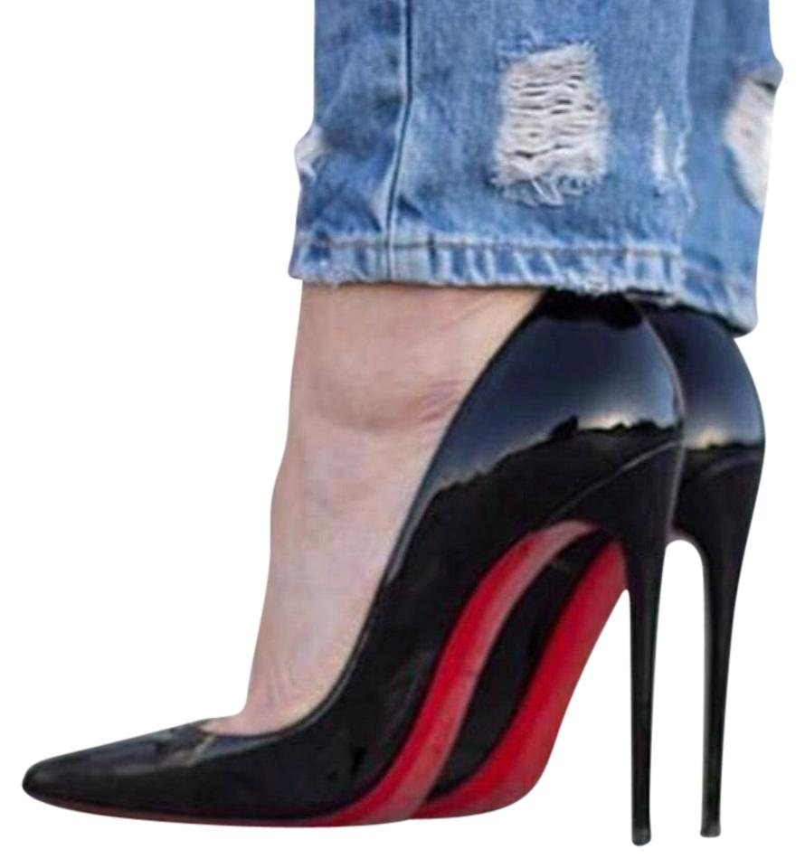 fa330cc48a51 Christian Louboutin Black So Kate Patent Red Sole Formal Shoes Size ...