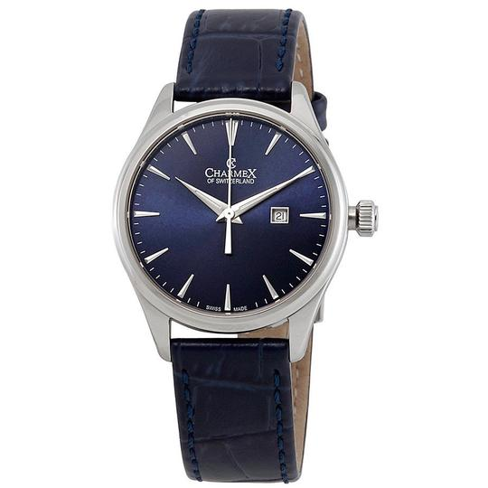 Preload https://img-static.tradesy.com/item/23842622/blue-dial-blue-leather-ladies-watch-0-0-540-540.jpg