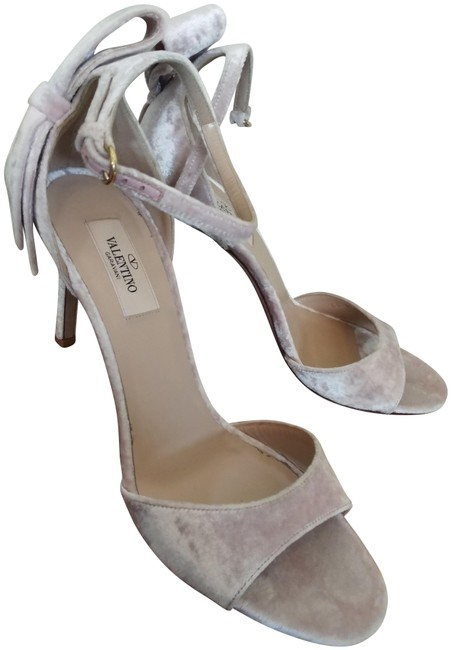 Item - Pale Lilac Unworn In Italy Pastel Slim Heel Bow Sandals Size EU 39 (Approx. US 9) Regular (M, B)