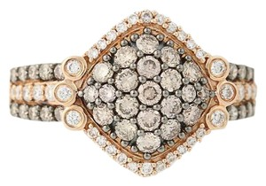 Le Vian NEW Le Vian Diamond Ring - 14k Rose Gold Cluster 1.12ctw n1917