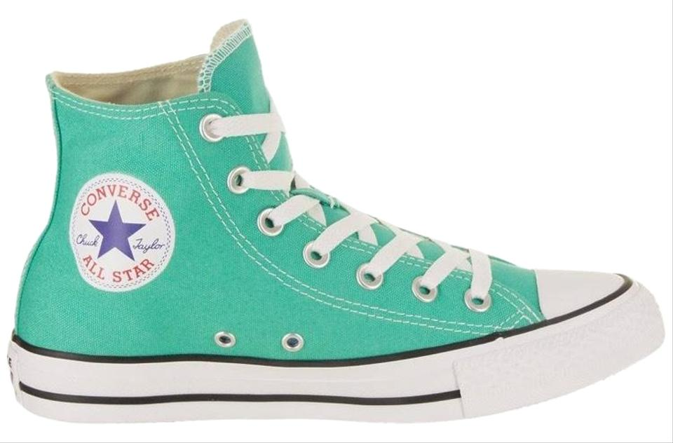 32dd025f157b Converse Mint Teal Chuck Taylor All Star High Top Sneakers Size US ...