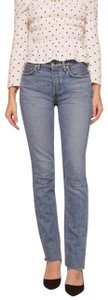 Reformation Straight Leg Jeans-Medium Wash