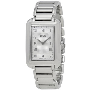 Fendi Fendi Classico Silver Dial Mens Stainless Steel Watch F