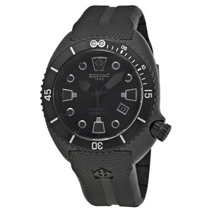 Zodiac Zodiac Oceanaire Automatic Black Dial Mens Sports Watch ZO