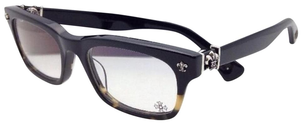 daf7305626f Chrome Hearts CHROME HEARTS Eyeglasses GITTIN ANY -A BMZ Black Maize Frame  Silver Image ...