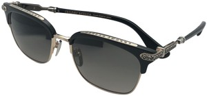 Chrome Hearts New CHROME HEARTS Sunglasses VERTICAL SMILE I BK/GP 55-19 Black Gold