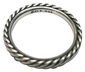 David Yurman David Yurman Sterling Silver Cable Band Ring