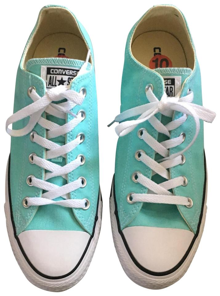 55d9aac484cf Converse Aruba Blue 130118f-unisex Chuck Taylor All Star Oxford Sneakers  Sneakers