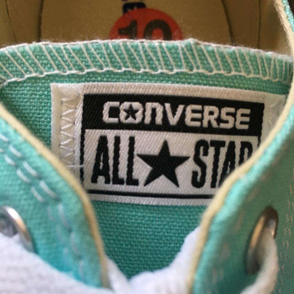 a5c3840917cbce Converse Aruba Blue 130118f-unisex Chuck Taylor All Star Oxford Sneakers  Sneakers Size US 10 Regular (M