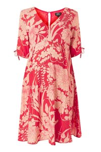 Topshop Floral Maternity Tea Dress