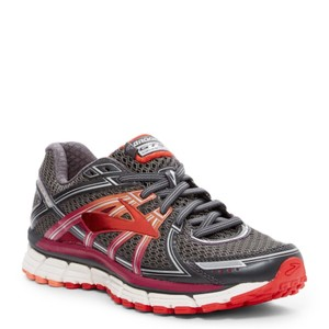 Brooks silver red Athletic