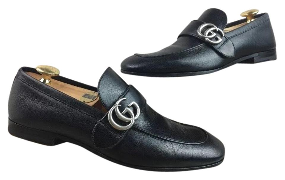 300d897ffab Gucci Donnie Bit Loafer Men s Black Leather Uk 8 Sneakers Size US 8 ...