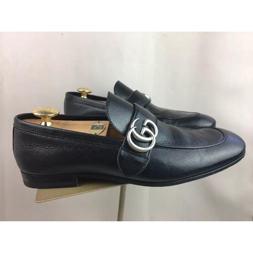 fee2ca99a51 Gucci Donnie Bit Loafer Men s Black Leather Uk 8 Sneakers Size US 8 ...