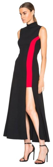 Preload https://img-static.tradesy.com/item/23844708/versace-black-contrast-panel-with-thigh-high-slit-long-cocktail-dress-size-10-m-0-2-650-650.jpg