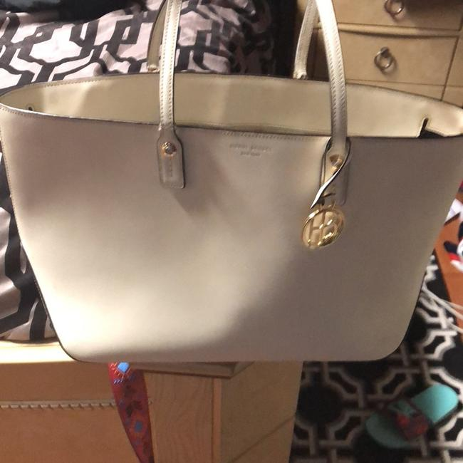 Item - 57 West Off White Leather Tote