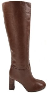 Tory Burch Leather Carmelite Boots